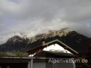In Mittenwald hat man einen sehr guten Blick auf den Karwendel (Foto: Sascha Resch)