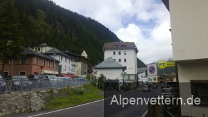 Endlich in Italien, aber der Brennerpass ist eher schmucklos