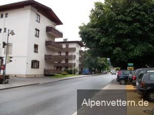 Kurze Pause in Matrei an der Brenner-Bundesstraße
